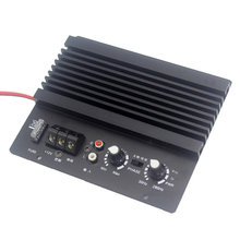 Car Auto Mono Car Audio High Power Amplifier Amp Board Powerful Bass Subwoofer 12V Speaker 300 watt class d audio amplifier board tas5613 300w mono power amp subwoofer