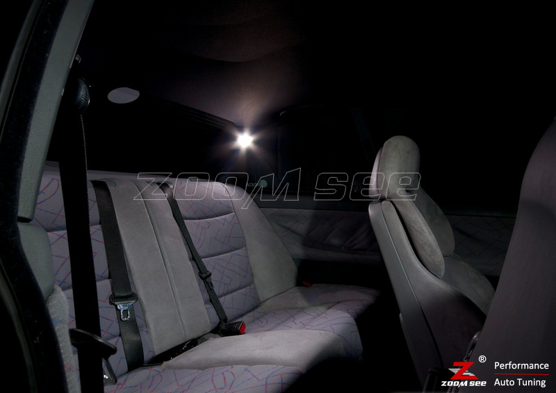 16x светодиодный номерной знак+ Внутреннее освещение лампы комплект для bmw 3 серии E36 седан купе M3 316i 318i 320i 323i 323is 325i 328i(90-99