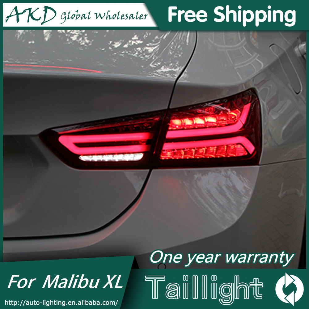 AKD Car Styling For Chevrolet Malibu XL Tail Lights 2016