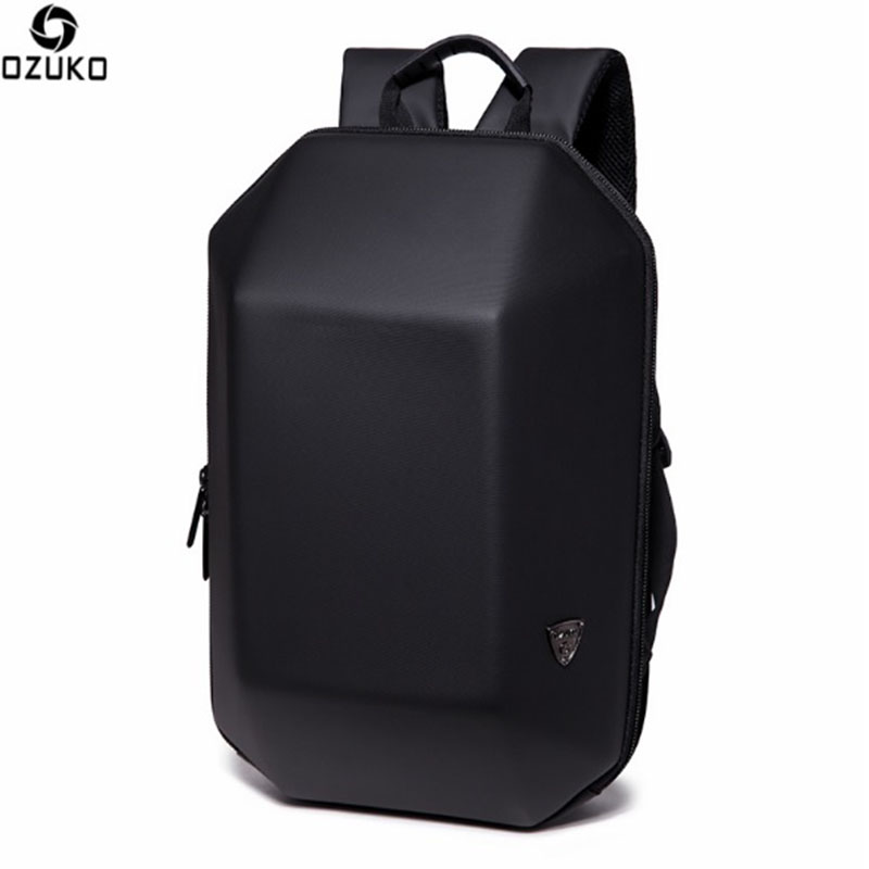 OZUKO Brand Backpack Men Anti Theft Notebook Computer Backpack Fashion High Quality Waterproof Travel School Bags For Teenagers 14 15 15 6 inch flax linen laptop notebook backpack bags case school backpack for travel shopping climbing men women