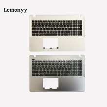 New US Laptop Keyboard for ASUS X552LD X552M X552MD X552V X552VL X552W keyboard with Palmrest Upper White/Gray