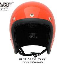 Мотоциклетный шлем Сертификация ECE бренд Япония TT& CO Томпсон стекловолокно винтажный мотоциклетный шлем