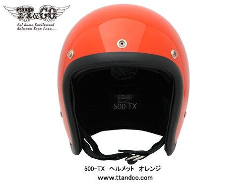 Moto Casco ECE certificazione Giappone di Marca TT & CO Thompson In Fibra di Vetro casco moto D'epoca Harley casco moto