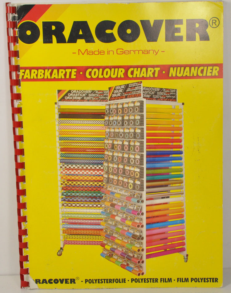 Oracover Multicolor High Quality Made in Germany Ultracote Covering Polyester Film For RC Airplane 60x100cm Model image