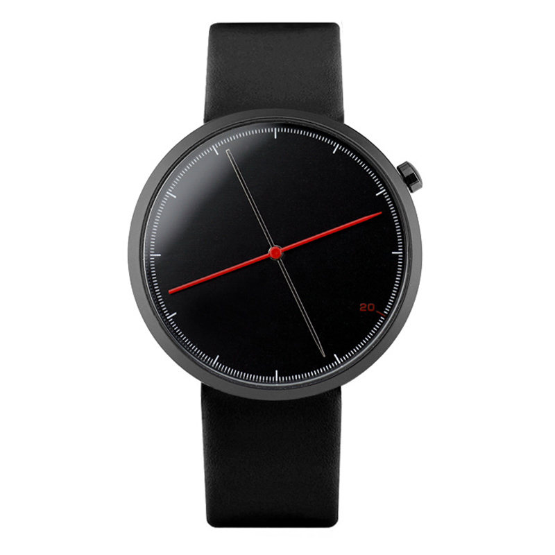 Enmex creative style cool wristwatch two balance hands with Fine scale casual leather strap fashion Stylish clock quartz watch 800g electronic balance measuring scale with different units counting balance and weight balance