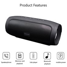 Hopestar H14 wireless Bluetooth speaker bass portable music column 16W subwoofer waterproof Boom sound box mp3 player PC speaker(China)