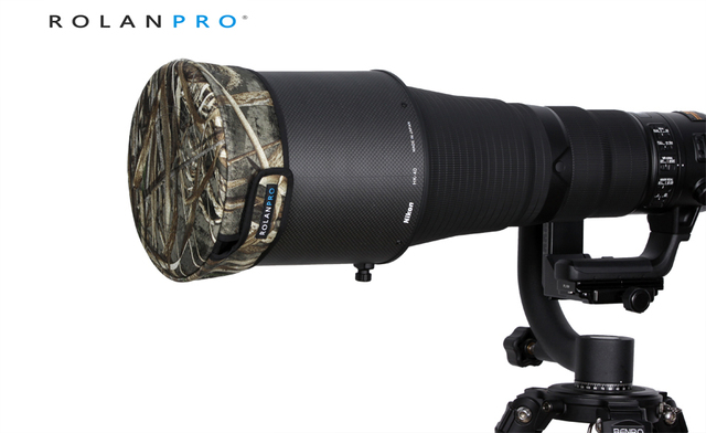 ROLANPRO DSLR Lens Cap Camouflage Jacket Short Telephoto Lens Guns Clothing for Sigma Tamron Canon Nikon 300/400/500/600/800mm