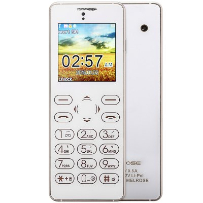MELROSE T1 1 54 inch Full Touch Card Phone Bluetooth FM Back Camera Anti lost Audio