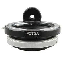 FOTGA кольцо адаптер для наклона объектива для Canon EOS EF крепление для Micro 4/3 M43 M 43 E P3 G2 EPL5 EPL6