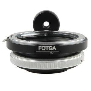 Image 1 - FOTGA anneau adaptateur dobjectif inclinable pour Canon EOS EF monture vers Micro 4/3 M43 M 43 E P3 G2 EPL5 EPL6