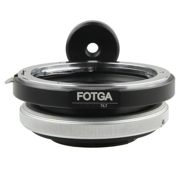 FOTGA anneau adaptateur dobjectif inclinable pour Canon EOS EF monture vers Micro 4/3 M43 M 43 E P3 G2 EPL5 EPL6