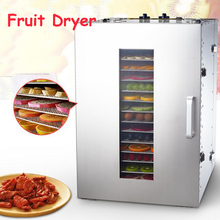 лучшая цена Dryer For Vegetables And Fruits Dehydrator Dehydration Desidratador Food Drying Machine Pet Food Dryer Household Dryer ST-02