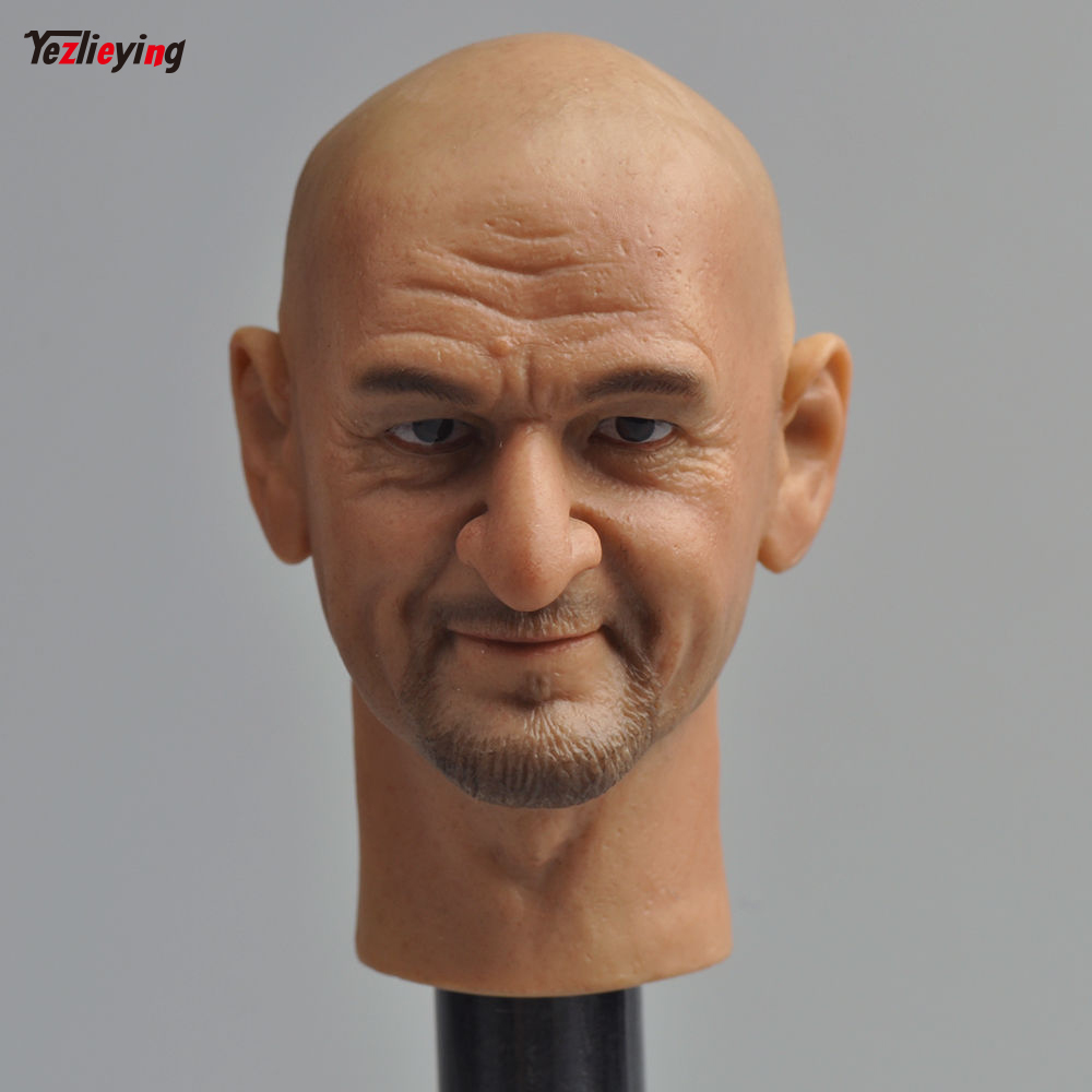 Headplay 1/6 Scale accessories Male Head Sculpt HP-0054 Ben Kingsley Carving Model F 12 Action Figure Doll Body Toys F Children цена