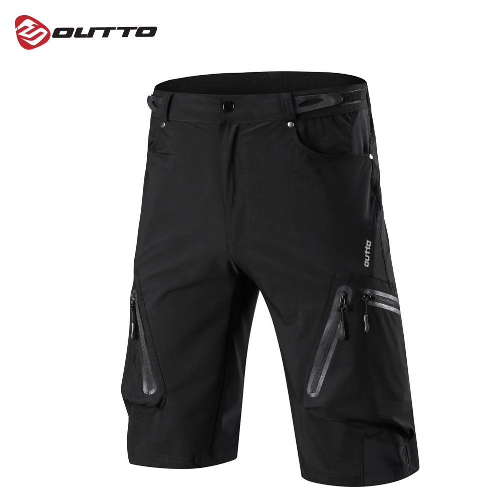 Outto Men's Cycling Shorts Breathable Loose Outdoor Sports Downhill MTB Riding Road Mountain Bike Short Trousers