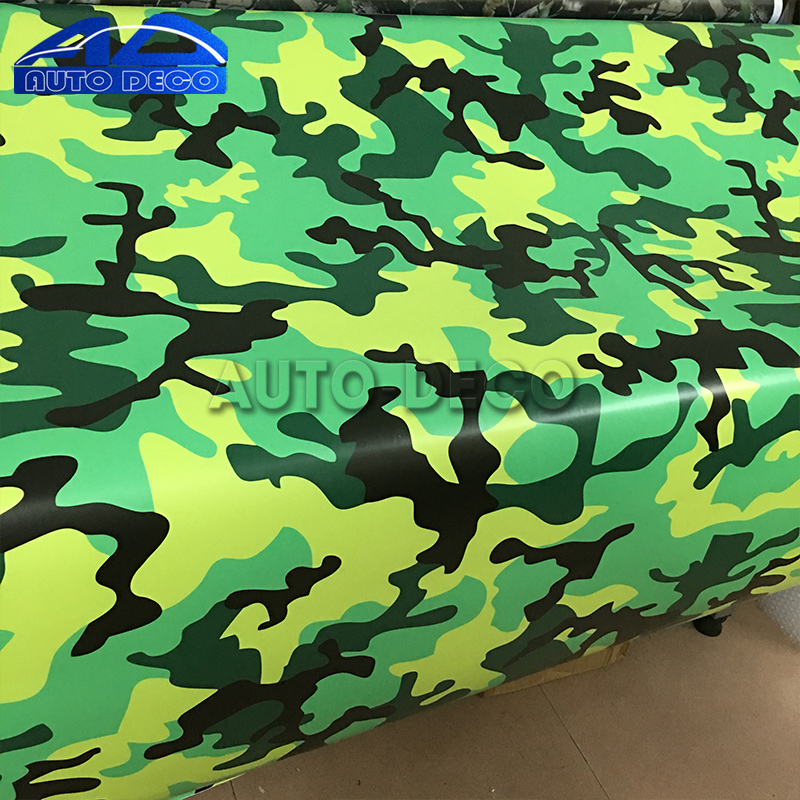 Scooter Army Green Urban Camo Camouflage Vinyl Car Wrap Sticker Air Release Decal for Full Hood Roof Trunk Wrap Sheet