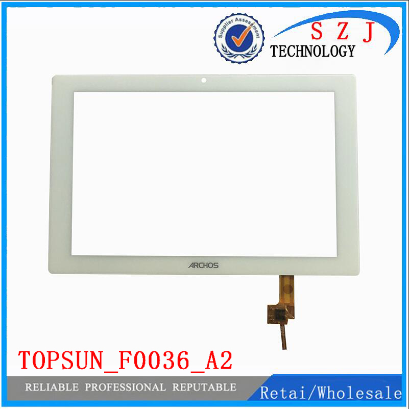 Original 10.1 inch Archos tablet TOPSUN_F0036_A2 touch screen digitizer glass touch panel DIY Parts F0036-A2 Free Shipping