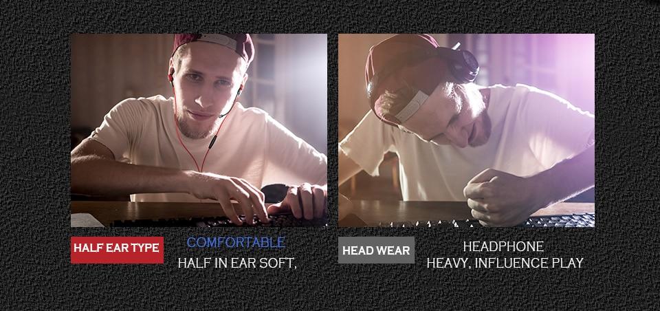 In-Ear Keringat States Gamer 6