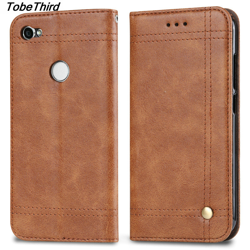 TobeThird For Xiaomi Redmi Note 5A Case Luxury Magnetic Adsorption Wallet Leather Case Cover for Xiaomi