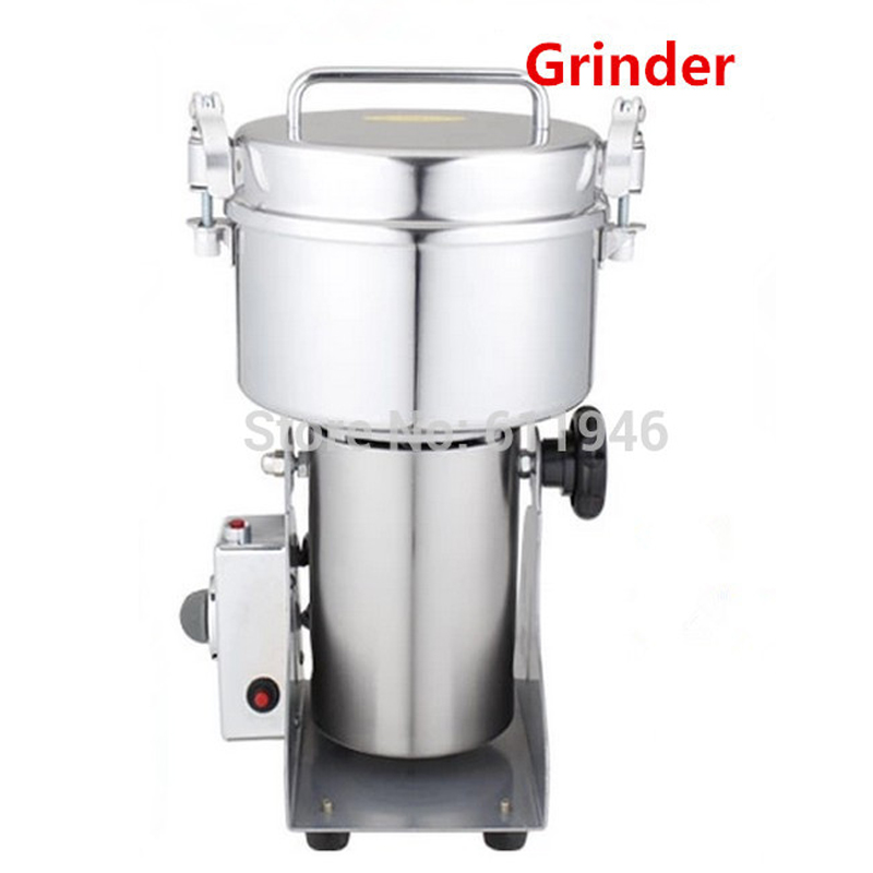 1000g multifunctional Chinese medicine grinder/Grain crusher Swing Type Stainless steel Food mill Electric pepper mill 110/220V high quality 300g swing type stainless steel electric medicine grinder powder machine ultrafine grinding mill machine