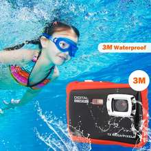 Детская цифровая камера водонепроницаемая подводная Спортивная