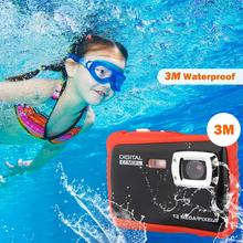 Купить с кэшбэком Kids Digital Camera Waterproof Underwater Children Sport Action Camera For Water Sports Anti Shock Boys Girls Gift Kids Cameras