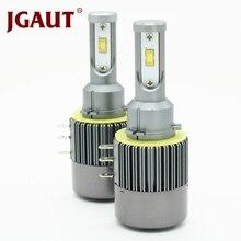 JGAUT H15 светодиодный фар Canbus без ошибок дальнего света дневного света DRL фара для Audi для Mercedes для Гольфа