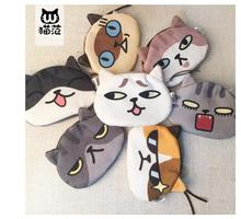 10pcs/lot! Unisex Cute Animal Cartoon 3D Cat Face Coin Change Purse Case Wallet Pocket Ladies Workmanship