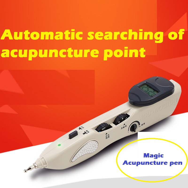 Magic Massage pen electronic laser acupuncture pen Meridian probes traditional Chinese medicine massage meridian needle moxibustion of traditional chinese medicine portable acupuncture box smoke free body care massage