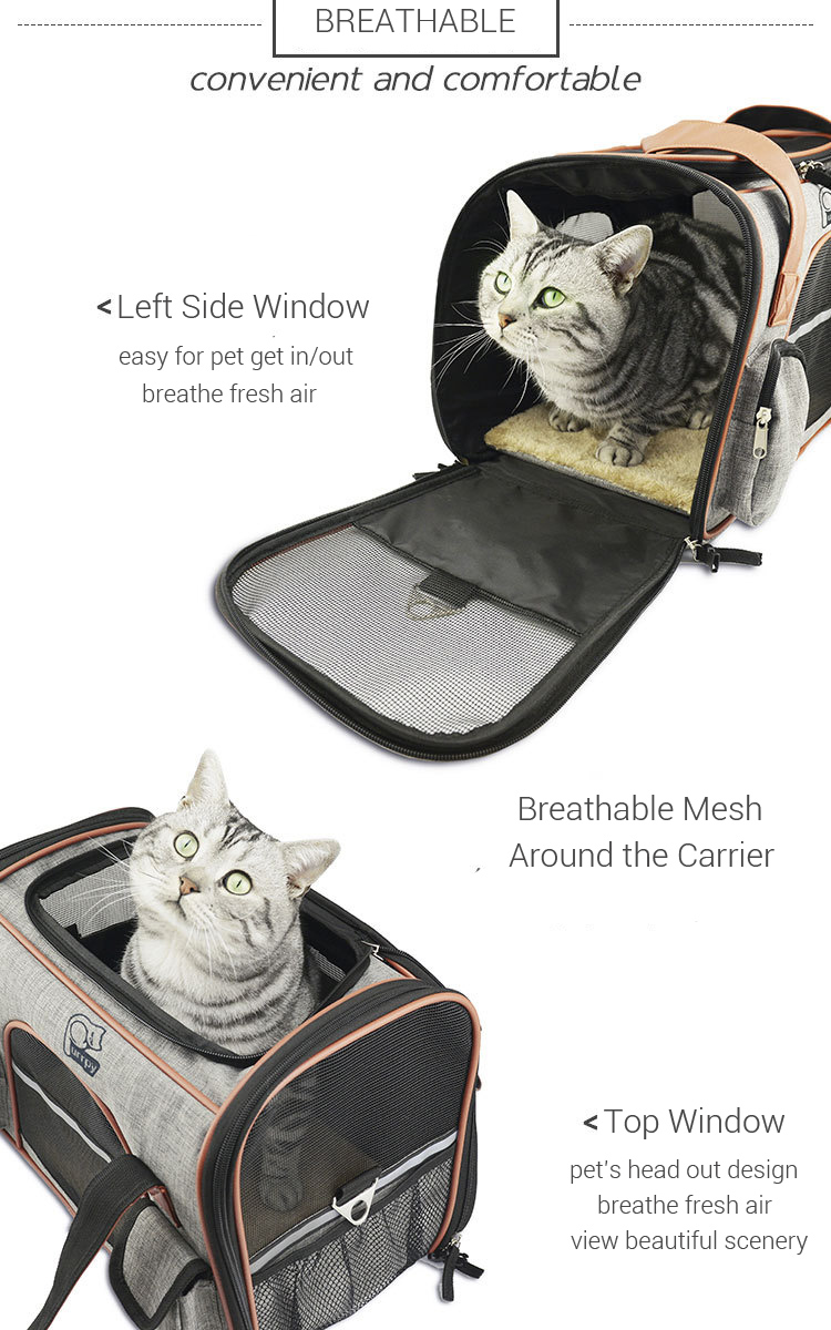 1Pc Quality Pet Carrier Bag Airplane Approved