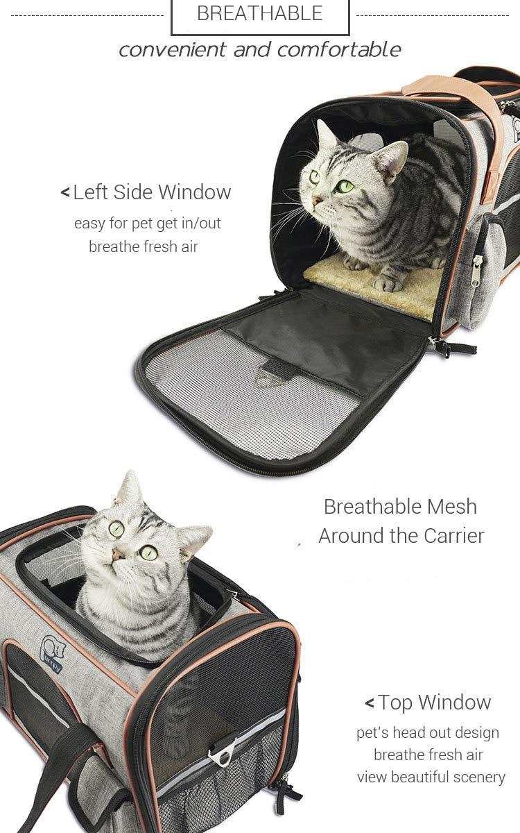 Breathable K9 Dog Backpack Carrier 8