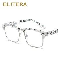 ELITERA Marca Novas TR90 Full Frame Armações de óculos Homens Eyewears  Óculos de Computador Miopia Vidros 367348cea1