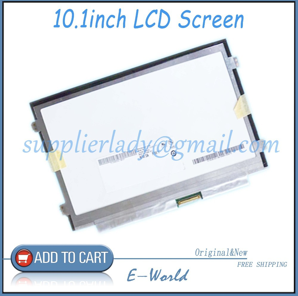 Original 10.1inch netbook laptop LCD screen B101AW06 V.1 B101AW06 V1 B101AW06 Free shipping