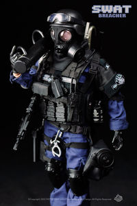 Image 2 - New Free Shipping  NEW Arrival  action figure soldier toys /military toys(SWAT BREACHER)