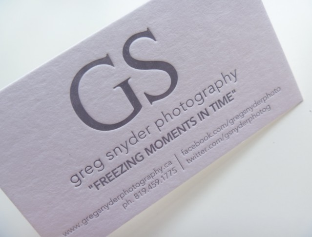 Simple Design Grav Impression Personnalise Cartes De Visite Blanc Fond Haut Gamme 600gsm