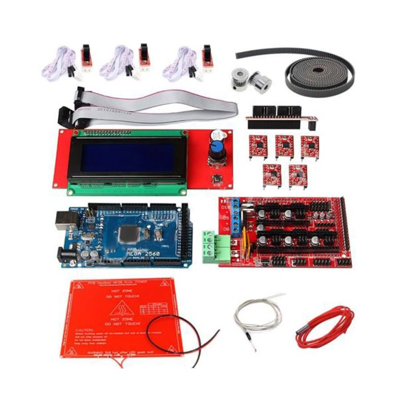 цена 3D Printer Kit Ramps 1.4 +2004 LCD + MK2B Heatbed + Controller fot Reprap Prusa i3