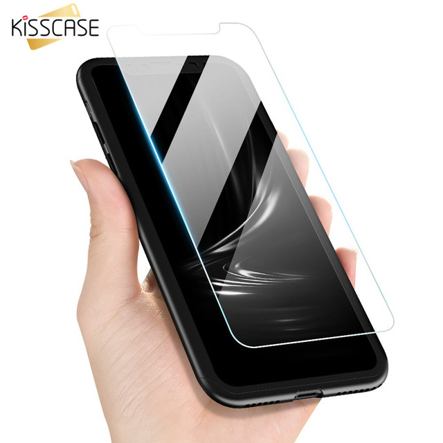 KISSCASE Tempered Glass Case For Xiaomi Pocophone F1 360 Degree Full Protection Case For Redmi 5 Plus 5A 5 6Pro 6 Capinhas Bag