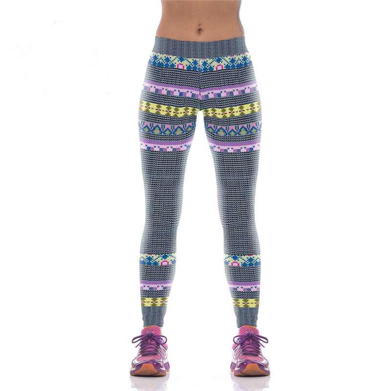 Spring Summer Women Clothing Leggings Running Pants Slim Gym Legging Female Fitness Workout Trousers Yoga Tights