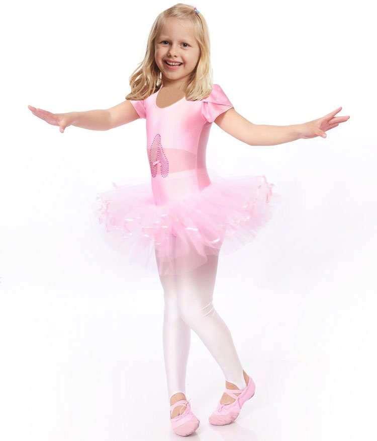 Girls Ballerina Ballet Dress For Children Girls Dance Costumes Clothing Kids Ballet Costumes Girl Dance Leotard Girl Dancewear