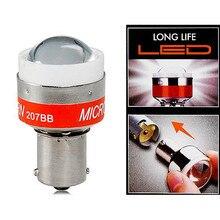 Carro automotivo universal 12v led back up alerta beep luz reverso alarme lâmpada buzzer emite som beep para p21w ba15s