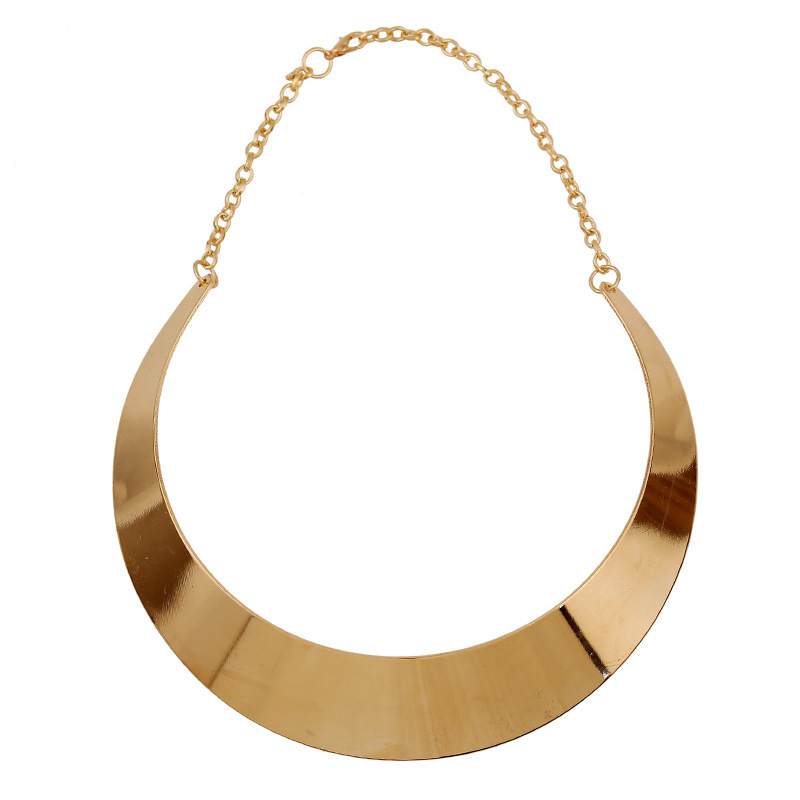 2016 New Fashion Series Alloy Statement Necklace Women Short Necklaces Collares Mujer Chunky Choker Gold Necklace Bijoux