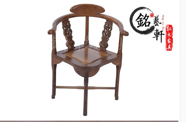 Móveis de mogno wenge cadeira cadeira cadeira de madeira Ming e Qing triângulo