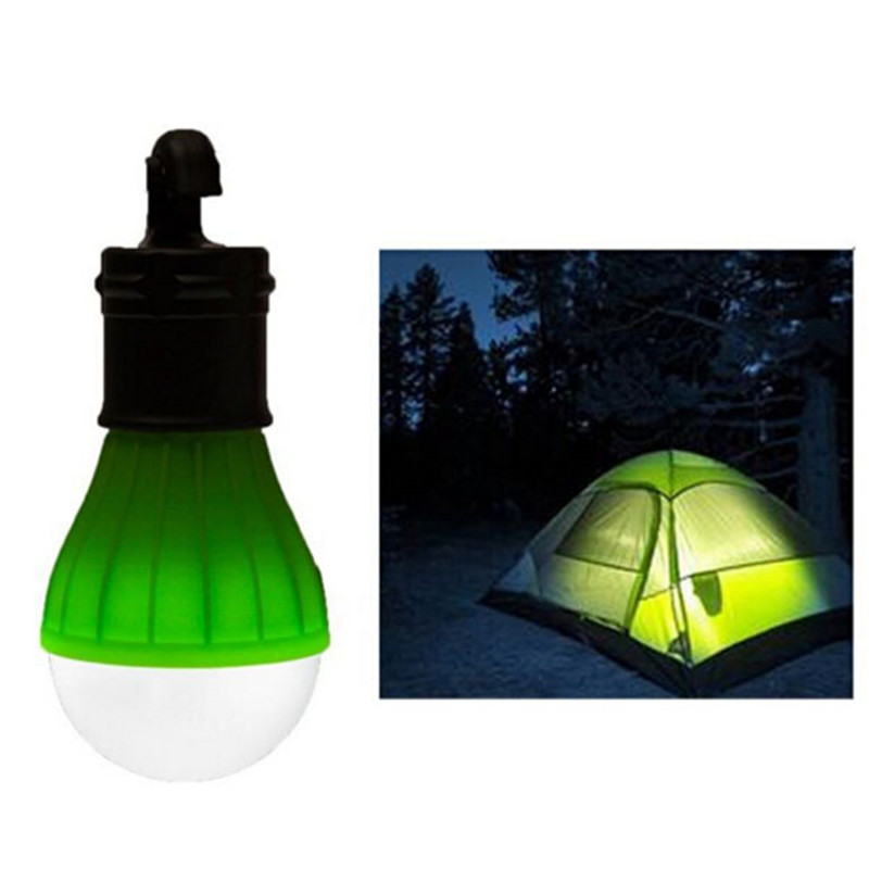 Outdoor Camping Lamp Tent Light Torch Flashlight Hanging Flat LED Light 3 Mode Adjustable Lantern AAA Battery