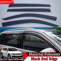QCBXYYXH Car Styling Car Awnings Shelters Window Visors Sun Rain Shield Sticker Covers Auto Accessories For