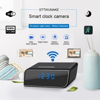 STTWUNAKE 1080P HD mini camera DV Night Vision WIFI Electronic Clock IP Baby Monitor micro Cam Video recorder hidden Camcorder