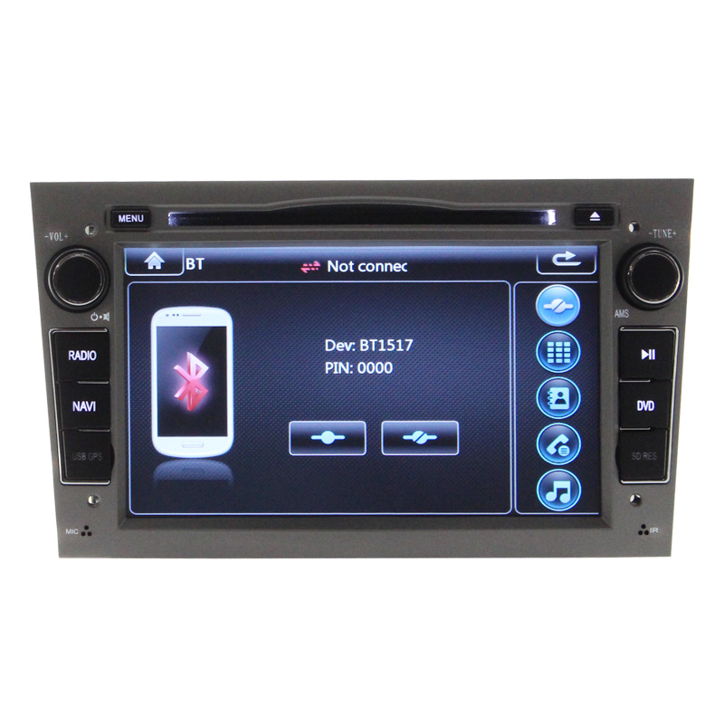 Factory Price Car Dvd Radio Tuner For Opel Astra Vectra Radio Biuetooth Canbus Free Map Gift