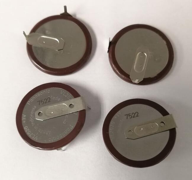 Original para Panasonic Filé de Lítio da Pilha da Tecla Baterias para o Carro Lote Nova Bateria Vl2020 3v 20mah Recarregável Moeda 90 Graus Bmw Chave Berloques vl 2020 4 Pçs –