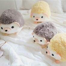 New 30/40cm Cute Cartoon Plush Hedgehog Dolls Soft Cotton Stuffed Lovely Hedgehog Plush Toys Birthday Gifts for Kids