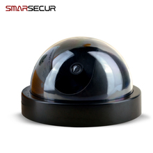 Free shopping Waterproof Dummy CCTV Camera With Flashing LED For Outdoor or Indoor Realistic Looking Fake Camera for Security