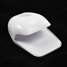 Portable Hand Finger Toe Nail Art Polish Dryer Blower White