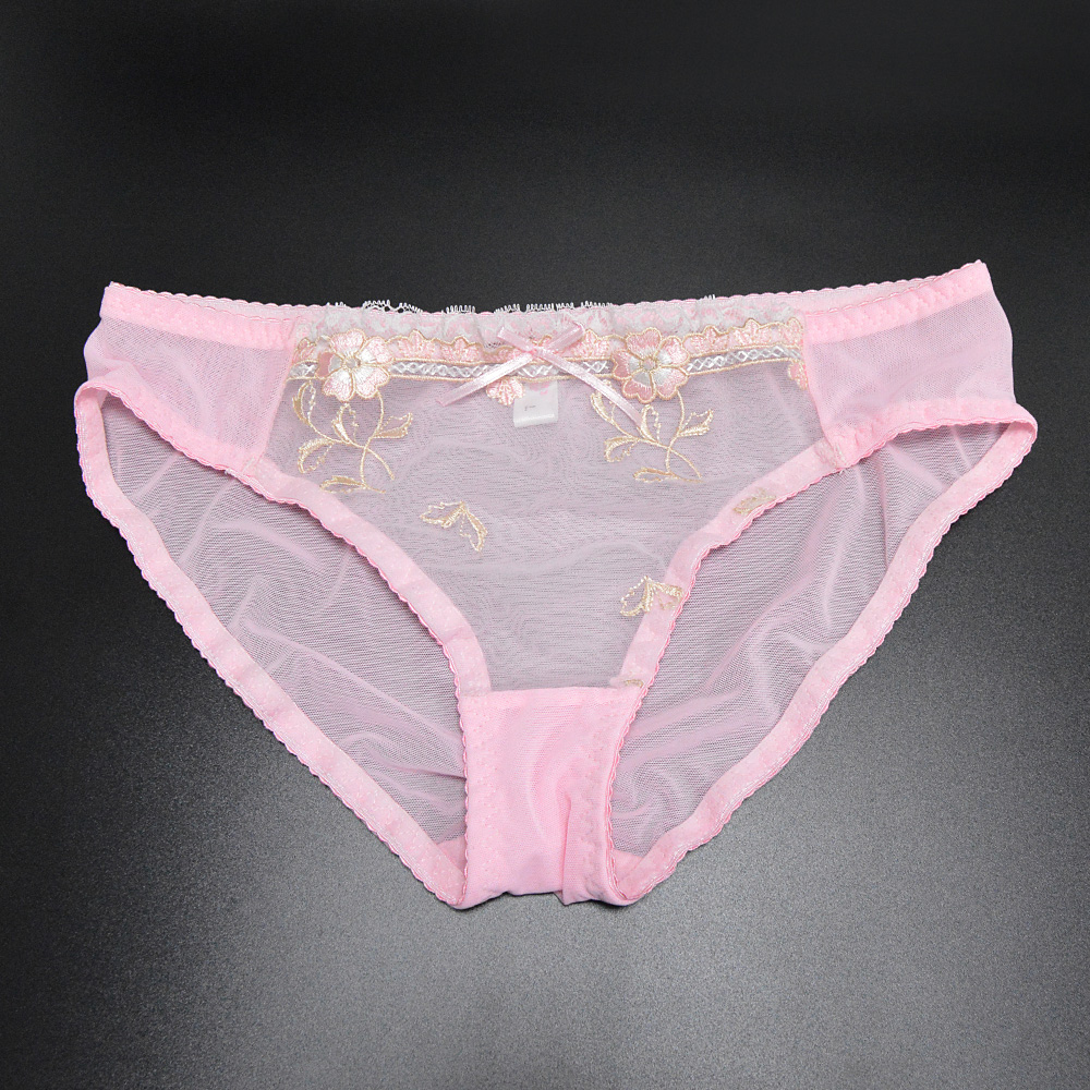 977473639 Bra Panty Sales Separated For Women Pink Floral ultra thin transparent lace  embroidery sexy set underwear Plus size Available BH-in Bra   Brief Sets  from ...
